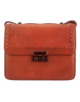 Kléber GM leather crossbody bag - Red