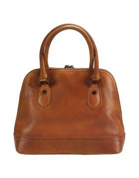Bowling Vintage leather bag - Tan