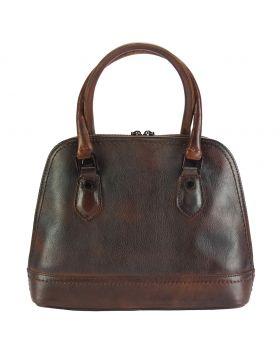 Bowling Vintage leather bag - Dark Brown