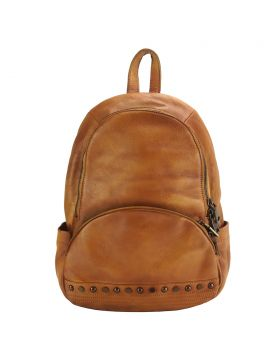 Walter leather Backpack - Tan