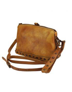 Marilena leather Crossbody bag - Tan