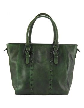 Prudenzia leather bag - Green