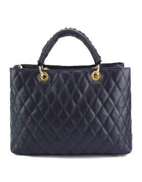 Severa Leather handbag - Blue