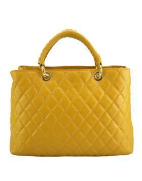 Severa Leather handbag - Yellow