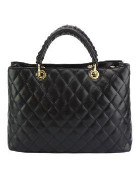 Severa Leather handbag - Black