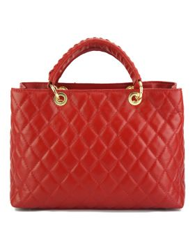 Severa Leather handbag -Red