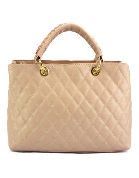 Severa Leather handbag - Pink