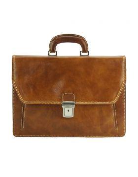 Sergio leather Mini briefcase