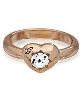 Ladies' Ring Guess UBR51410-54 (17,19 mm)