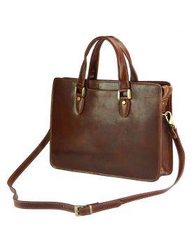Rolando leather bag - Brown