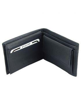 Saffiro Mini leather wallet - Blue