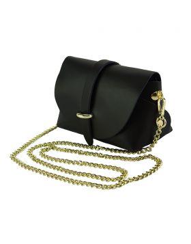 Martina Mini leather bag - Black