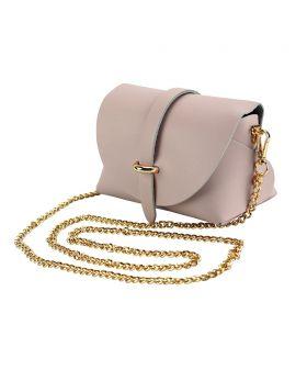 Martina Mini leather bag - Lite Pink