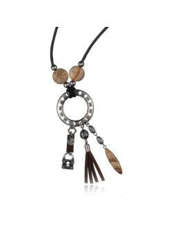 Ladies'Necklace Time Force TJ1032C01 (45 cm)