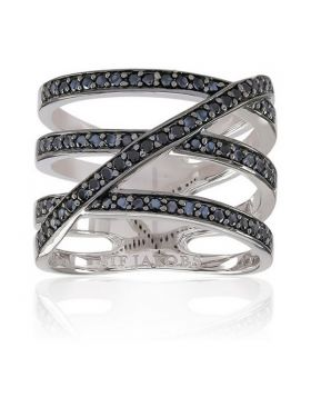 Ladies' Ring Sif Jakobs R10994-BK-54 (Size 14)