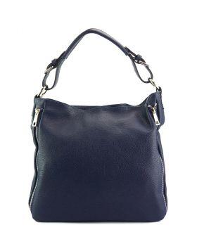 Artemisa leather Hobo bag - Blue