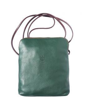 Mia GM leather crossbody bag - Green
