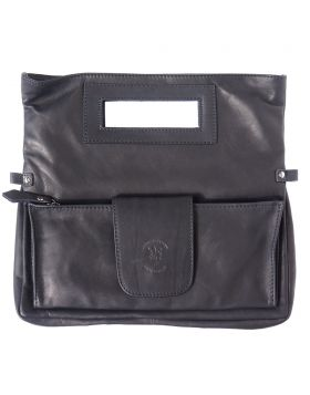 Giuliana Leather Handbag - Black