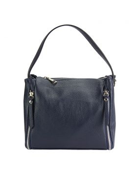 Giuseppina leather Handbag - Blue