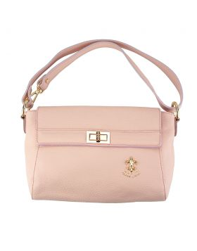 Fatima leather bag - Lite Pink