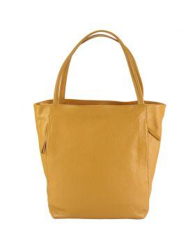 The Mélie leather bag - Tan