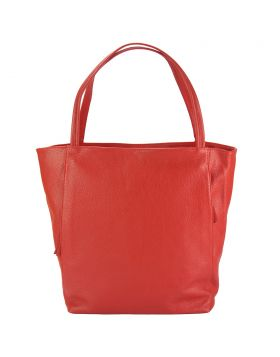 The Mélie leather bag - Red