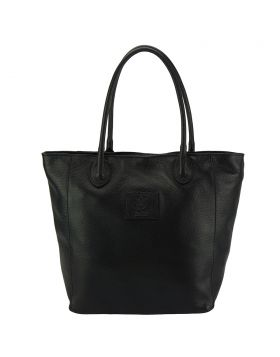Iona leather bag - Black