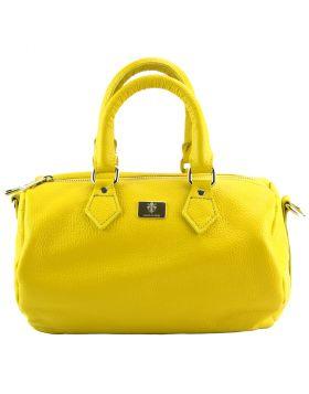 Moira T Leather handbag - Yellow