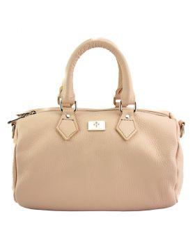 Moira T Leather handbag - Pink
