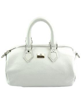 Moira T Leather handbag - White