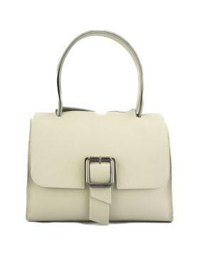 Casimira leather Handbag - Beige