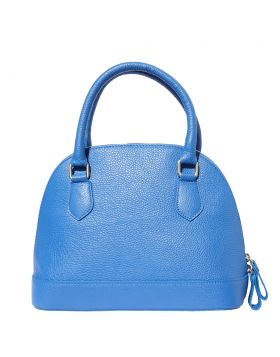 Bowling leather bag - Electric Blue