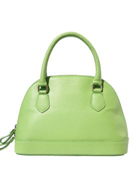 Bowling leather bag - Lime Green