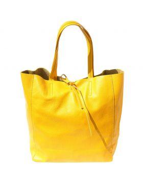Babila leather bag - Yellow