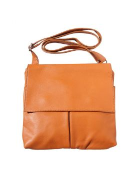 Oriana leather shoulder bag - Tan