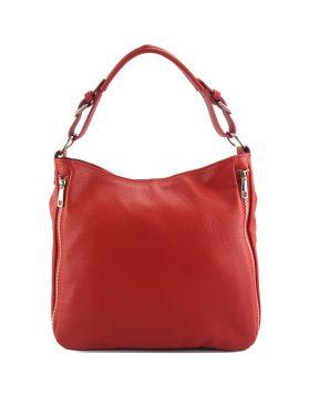 Artemisa leather Hobo bag - Red