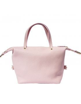 Pia Leather makeup bag - Pink