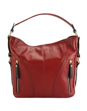 Sabrina GM leather shoulder bag - Red
