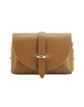 Martina Mini leather bag - Tan