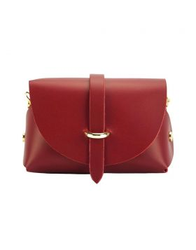 Martina Mini leather bag - Red