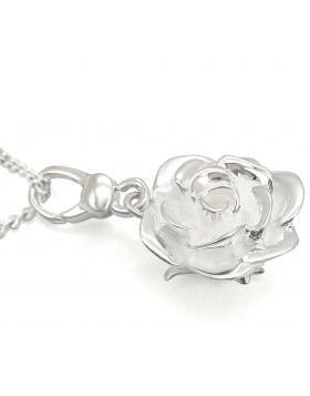 LOS427-18 - 925 Sterling Silver Silver Chain Pendant No Stone No Stone