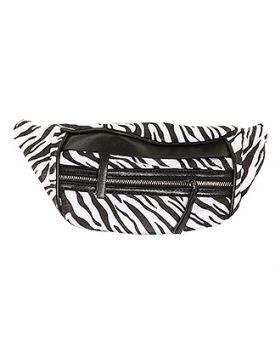 Fashionista Zebra Print Fanny Pack