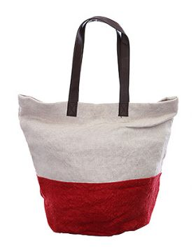 Must Have Summer Beach Tote - Red