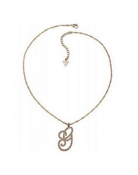 Ladies' Necklace Guess UBN11418 (46-51 cm)