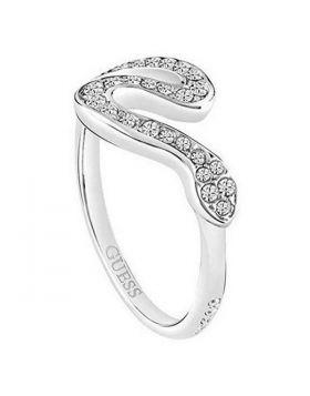 Ladies' Ring Guess UBR72507-56 (17,83 mm)