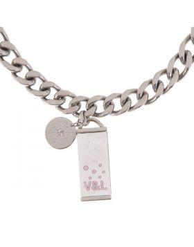 Ladies'Necklace V&L VJ0139GA
