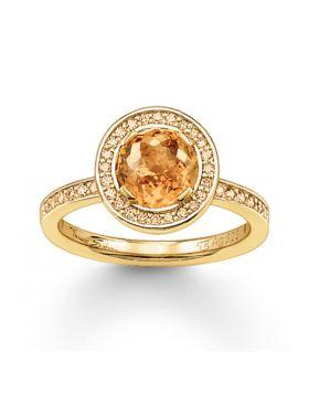 Ladies' Ring Thomas Sabo TR1971-414-3-54 (17,1 mm)