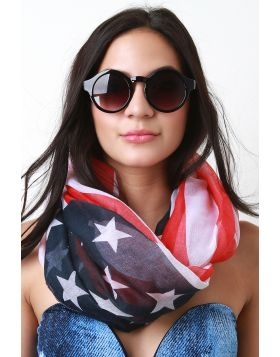 American Infinity Scarf -  American Flag