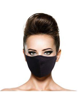 Silvadur Reusable Cotton Mask - Black