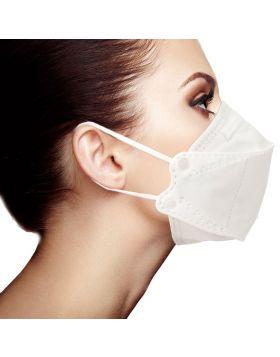Shashi 3D Mask - White